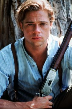 Was there ever a more beautiful man than Brad Pitt in Legends of the Fall?