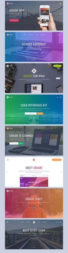 Grade UI Kit