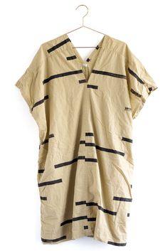 This Broken Lines V Dress is a statement in itself. Pair them with simple black Indra Flats and you're fabulous and ready to go!