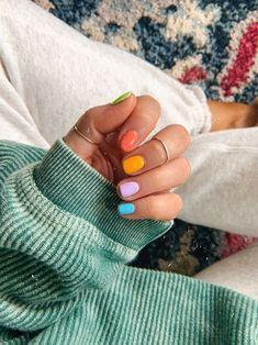 Cute Acrylic Nails, Cute Nails, My Nails, Shellac Nails, Gel Manicure, Nagellack Design, Nagellack Trends, Minimalist Nails, Nail Swag