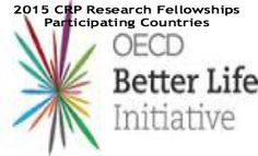CRP Research Fellowships Participating Countries, 2015, and applications are submitted till 10th September 2014.  The Organisation for Economic Co-operation and Development (OECD) is awarding research fellowships into one of the three following research themes: The Natural Resources Challenge, Sustainability in Practice and The Food Chain - See more at: http://www.scholarshipsbar.com/crp-research-fellowships-participating-countries.html#sthash.CSDTYotS.dpuf