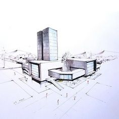#architec #architecturesketch
