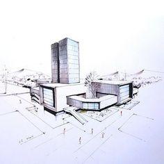 @dav_____11 #sketch_arq #architecture #design #ideas #architecturestudent #アーキテクチャ #arquitectura #Architektur #sketch #instadaily #drawing #modern #art #modern #follow #architec #architecturesketch #architectureporn