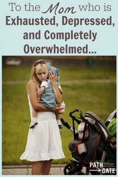 To the Mom who is exhausted, depressed, and completely overwhelmed - Lessons from Elijah.