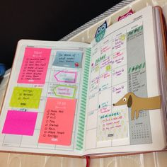 my colorful planner