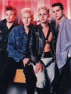 Depeche Mode. / back in the day