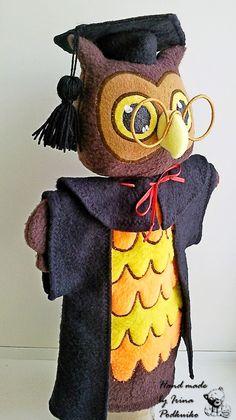 """перчаточная кукла """"мудрая сова"""""""