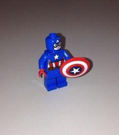 Lego Marvel Avengers Captain America Minifigure 76017 New | eBay
