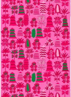 Marimekko print scandinavian textile design