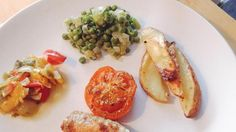 Vier groentetoppers