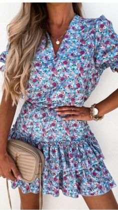 Mini dress Frill dress V neck dress Short sleeves with frills Elasticated waist with tie dress Frill mini skirt Floral print dress Frill Dress, Tie Dress, V Neck Dress, Short Sleeves, Short Sleeve Dresses, Dress First, Online Boutiques, No Frills, Fashion Online