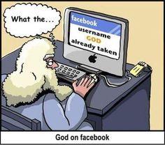 Funny God on Facebook