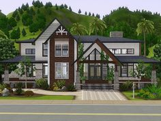 Norbert house by Rirann for Sims 3