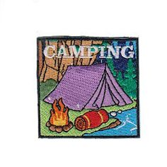 """MakingFriends S'More Fun Patch S'Mores are the most recognizable symbol of a camp out whether it is roughing it or camping in your own backyard. Make the """"S'More Fun"""" Patch a part of your next camping activity. Download our suggested requirements."""