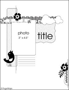 Modify to 12x12 - single photo design
