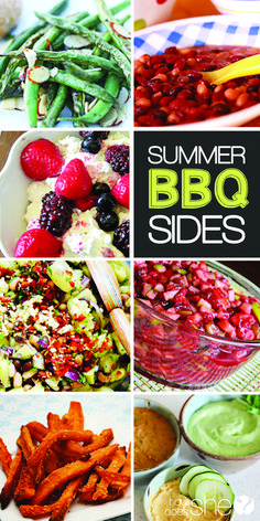 Need something to go with your grilled dinner?Fantastic BBQ sides! howdoesshe.com #bbqrecipes