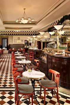 Cafe Bristol. Hotel Bristol, a Luxury Collection Hotel, Warsaw.
