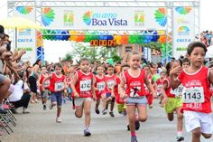 Crianças esbanjam disposição na versão kids da Corrida 9 de Julho #pmbv #boavista #roraima #prefeitruaboavista