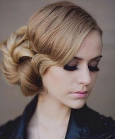 Side updo ~ we ❤ this! moncheribridals.com