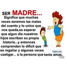 Madres-- la verdad Mothers Love Quotes, Cute Love Quotes, Tag Image, Bae Quotes, Call My Mom, Life Words, God Loves Me, Spanish Quotes, Family Love