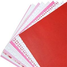 Love Collection Set of 10 - 12 x 12 Cardstock