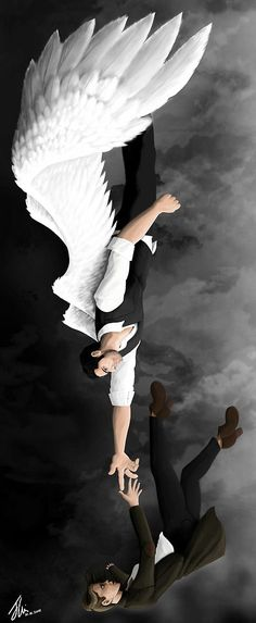 This is my tribute to the amazing show Lucifer on Fox. Best Tv Shows, Favorite Tv Shows, Wallpaper Series, Lucifer Wings, Supernatural, Tom Ellis Lucifer, Lauren German, The Ancient Magus Bride, Angel And Devil