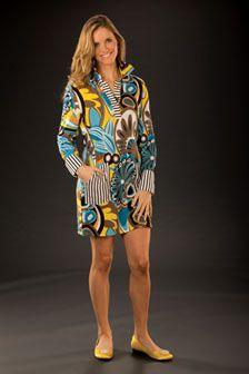Tracy Negoshian Kelci Dress from the Spring collection-available at Polka Dots