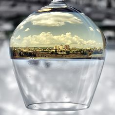 City in a Glass