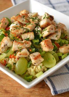Super Healthy Sunday: Zilvervliessalade met kip en witte druif - Ohmyfoodness