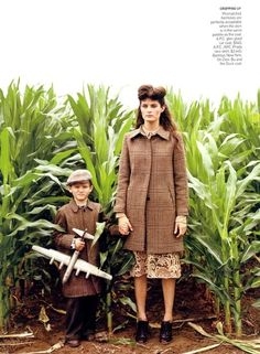 Isabeli Fontana for Vogue 2008. Photographed by Arthur Elgort