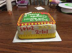 Retirement cake side 3