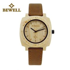 Trendy Top Brand Wooden Watches Big Sale http://timecreatives.com/bewell-wooden-womens-watch-leather/ //Price: $40.99 & FREE Shipping //     #watches #watchesformen #wristwatch #fashion