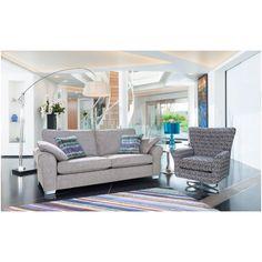 Camden Swivel Chair and Three Seater Sofa