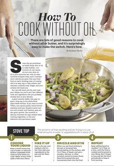 "A new ""bookazine"" by the editors of Forks Over Knives, this coffee-table ready publication is a guide for people who want to take control of their health. Gourmet Recipes, Whole Food Recipes, Healthy Recipes, Healthy Cooking, Healthy Foods, Plant Based Eating, Plant Based Diet, Cooking Without Oil, Forks Over Knives"