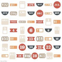 Cricut Days and Dates Garden Of Words, Cricut Cartridges, Cricut Fonts, Basic Shapes, Give Thanks, Clean Design, Cricut Design, Overlays, Craft Supplies