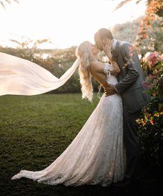 dramatic bride and groom wedding