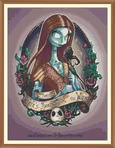 nightmare before christmas cross stitch - Google Search | Cross ...