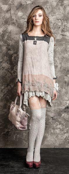 NEU Eingetroffen Kleid Tunika Elisa Cavaletti GR M H W Kollektion 14 15 | eBay