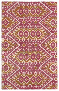 Global Inspirations GLB01-92 Pink Contemporary Rug