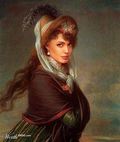 Celebrity portraits done renaissance style - Randommization