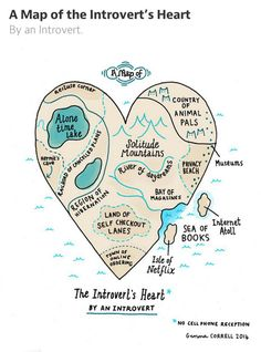 A Map of the Introvert's Heart