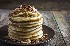 The Best Banana Pancakes with Chickpea Flour