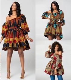 2019 New Fashion African Dresses for Women Summer Tilting Shoulder Two Wear Dashiki Africa Style Print Rich Bazin Dashiki Top – Online Souqa African Dresses For Women, African Attire, African Fashion Dresses, African Outfits, African Clothes, Sexy Long Dress, Dashiki Dress, Africa Fashion, Traditional Outfits