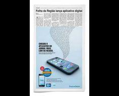 Print ads: App