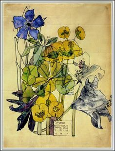 Charles Rennie Mackintosh ~ Spurge ~ 1909