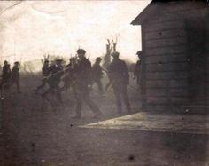 Irish Volunteers training prior to the Easter Rising.