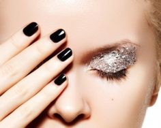 Black nail polish by Funnyfacects