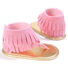 >> Click to Buy << T style PU Suede Leather Summer Tassel baby Pram Crib Fringe moccasins Soft soled Anti-slip for Baby infant Baby fashion sandals #Affiliate