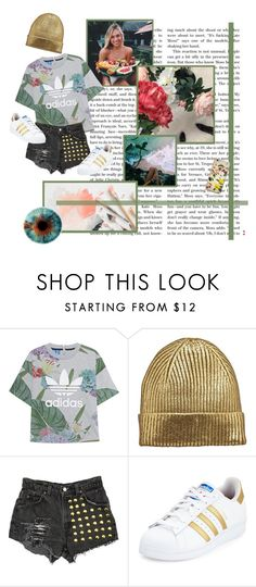 """""""Untitled #1086"""" by gabi-sweet ❤ liked on Polyvore featuring adidas Originals, Levi's and adidas"""