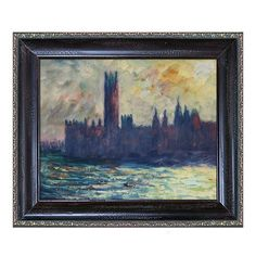 I pinned this Claude Monet Palace of Westminster Canvas Print from the Style Study: Diamond Jubilee event at Joss and Main!